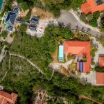 Satellite shot of Villa Anaphine