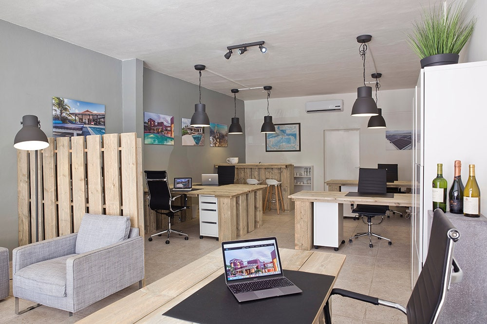 Qvillas kantoor Bonaire