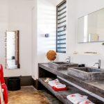 Piet Boon, design bathroom, design badkamer, Boon villa, Piet Boon villa Bonaire, Bonaire