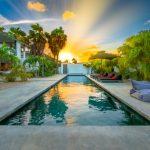 Swimming pool, villa, garden villa, vacation rental, luxe villa, vakantie villa, Bonaire