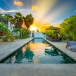 Swimming pool, villa, garden villa, vacation rental, luxe villa, vakantie villa, Bonaire