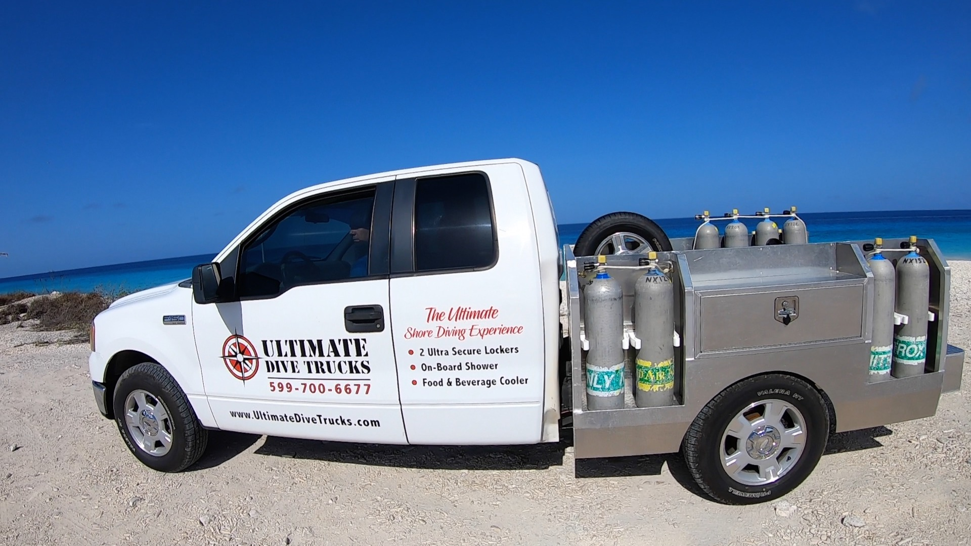 Ultimate dive truck