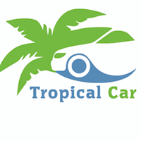 tropical car rental logo