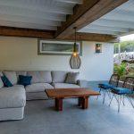 Lounge set with smooth lighting